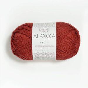 Garn Sandnes Alpakka Ull 4035 Mørk Terracotta