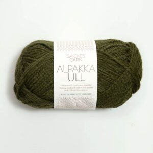 Garn Sandnes Alpakka Ull 9573 Mosegrøn