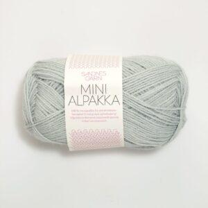 Garn Sandnes Mini Alpakka 7521 Støvet Lys blå