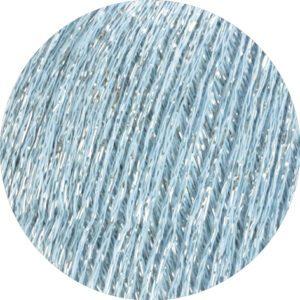 Garn Brillino 022 Lyseblå/Sølv