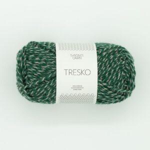 Garn Sandnes Tresko 8063 Grøngrå