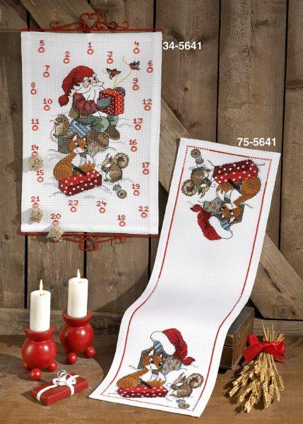 Julekalender Nisse og Egern