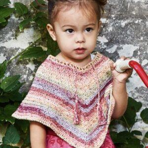 Hæklet poncho til børn