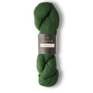 Garn Isager Alpaca 2 farve 56 Grøn