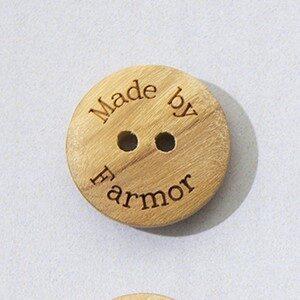 Made by Farmor knap