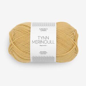 Garn Tynn Merinoull 2023 Gul