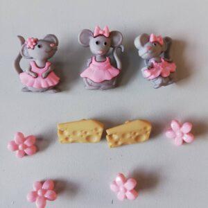 Knapper med mus