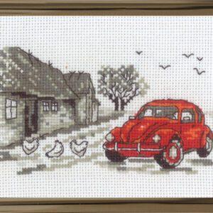 Den røde bil