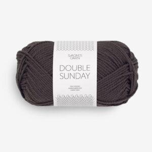 Garn Double Sunday 3890 Brun Lakrids