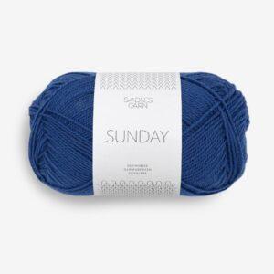 Garn Sunday 5846 Blå